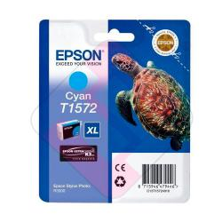 EPSON CARTUCHO INYECCION TINTA CIAN T1572 25.9ML BLISTER SIN