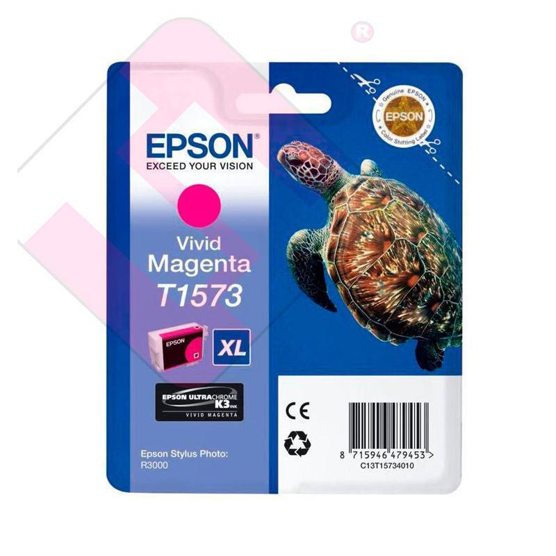 EPSON CARTUCHO INYECCION TINTA MAGENTA VIVID T1573 25.9ML BL