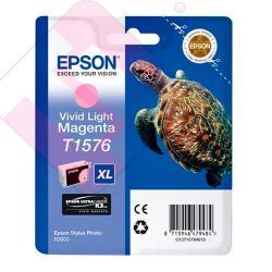 EPSON CARTUCHO INYECCION TINTA MAGENTA VIVID CLARO T1576 25.