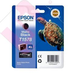 EPSON CARTUCHO INYECCION TINTA NEGRO MATE T1578 25.9ML BLIST
