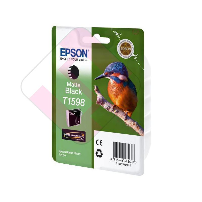 EPSON CARTUCHO INYECCION TINTA NEGRO MATE 17ML STYLUS PHOTO