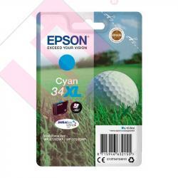 EPSON CARTUCHO CYAN WF3725D 34XL