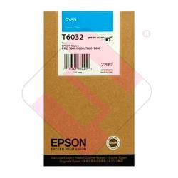 EPSON CARTUCHO INYECCION TINTA CIAN 220ML STYLUS PRO/7880/98