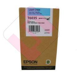 EPSON CARTUCHO INYECCION TINTA CIAN CLARO 220ML STYLUS PRO/7