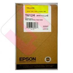 EPSON CARTUCHO INYECCION TINTA AMARILLO 220ML STYLUS PRO/745