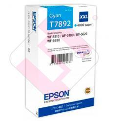 EPSON CARTUCHO CIAN XXL 4000 PAG WF-5XXX
