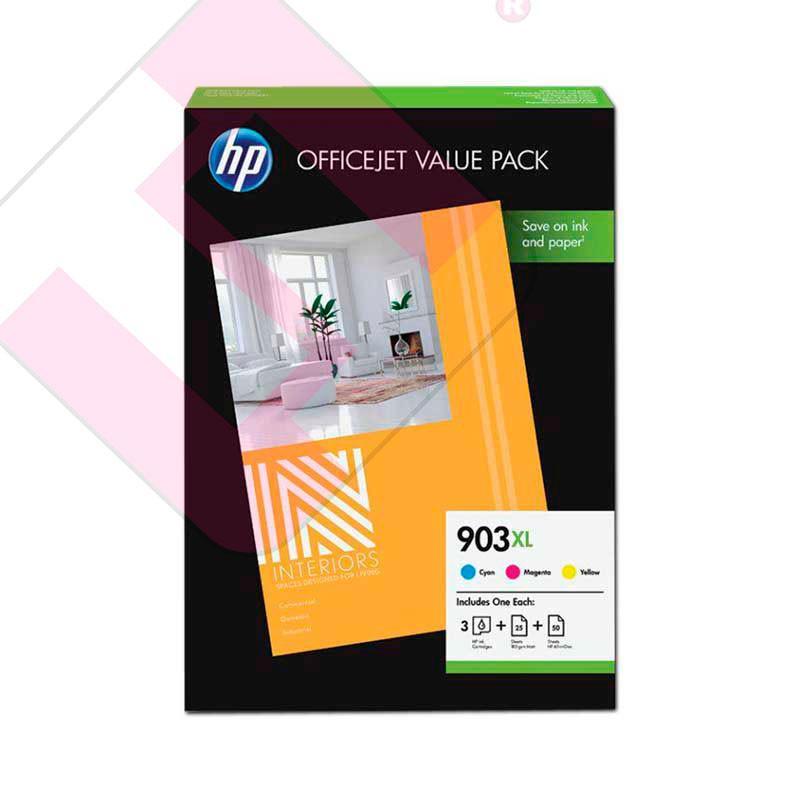 HEWLETT PACKARD PACK 903XL CMY