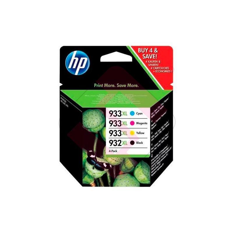 CARTUCHO HP 932XL/933XL COMBO PACK B/C/M/Y