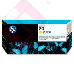 HEWLETT PACKARD KIT INKJET AMARILLO 80 DESIGNJET/1000 SERIES