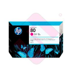 HEWLETT PACKARD CARTUCHO INYECCION TINTA MAGENTA 80 350ML DE