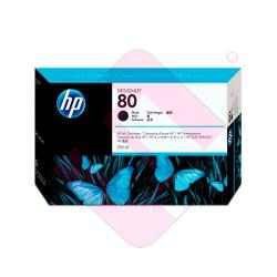 HEWLETT PACKARD CARTUCHO INYECCION TINTA NEGRO 80 350ML DESI