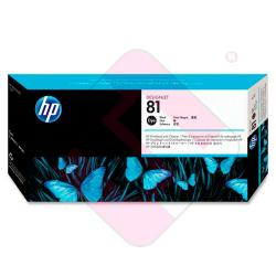 HEWLETT PACKARD KIT INKJET NEGRO 81 DESINGJET/5000/5000PS/55