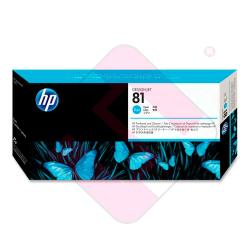 HEWLETT PACKARD KIT INKJET CIAN 81 DESINGJET/5000/5000PS/550