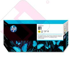 HEWLETT PACKARD KIT INKJET AMARILLO 81 DESINGJET/5000/5000PS