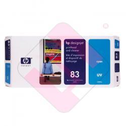 HEWLETT PACKARD KIT INKJET CIAN 83 UV DESINGJET/5000PS/5000/