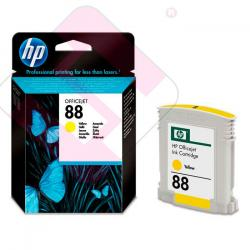 HEWLETT PACKARD CARTUCHO INYECCION TINTA AMARILLO 88 10ML OF