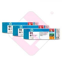 HEWLETT PACKARD CARTUCHO INYECCION TINTA NEGRO FOTO 91 775ML