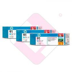 HEWLETT PACKARD CARTUCHO INYECCION TINTA CIAN CLARO 91 775ML