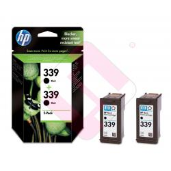 HEWLETT PACKARD CARTUCHO INYECCION TINTA NEGRO 339 PACK 2 DE