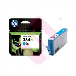 HEWLETT PACKARD CARTUCHO INYECCION TINTA CIAN 364XL 750 P GI