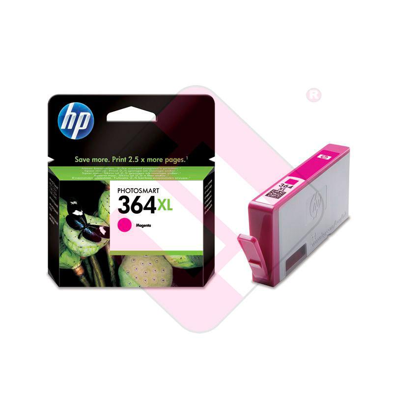 HEWLETT PACKARD CARTUCHO INYECCION TINTA MAGENTA 364XL 750 P