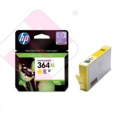 HEWLETT PACKARD CARTUCHO INYECCION TINTA AMARILLO 364XL 750