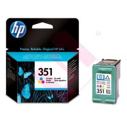 HEWLETT PACKARD CARTUCHO INYECCION TINTA TRICOLOR 351 170 P
