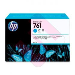 HEWLETT PACKARD CARTUCHO INYECCION TINTA CIAN 761 400ML DJ T
