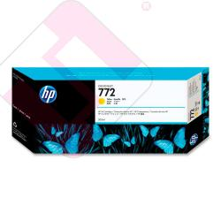 HEWLETT PACKARD CARTUCHO INYECCION TINTA AMARILLO 772 300ML