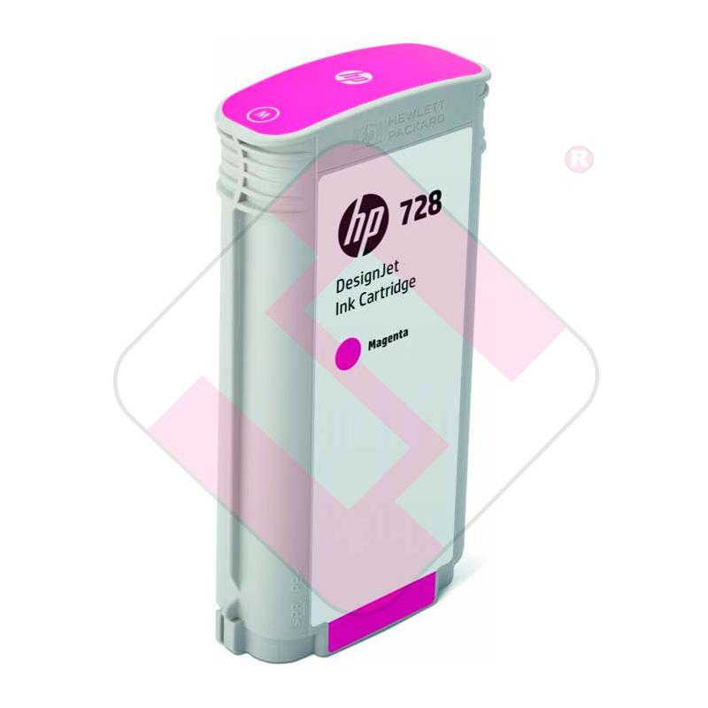 HEWLETT PACKARD DESIGNJET T730/T830 HP 728 MAGENTA 130ML
