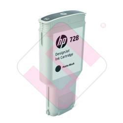 HEWLETT PACKARD DESGINJET T730/T830 HP 728 NEGRO MATE 300ML