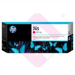 HP CARTUCHO TINTA MAGENTA 300ML 745 Z2600/Z5600