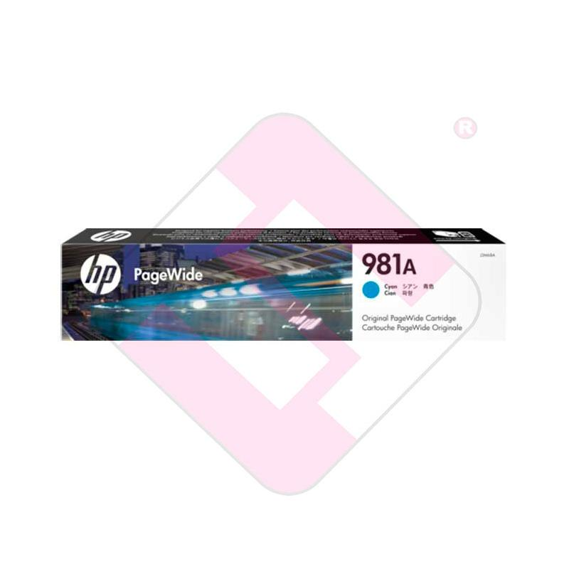 HP CARTUCHO TINTA CIAN 981A 6000 PAGINAS