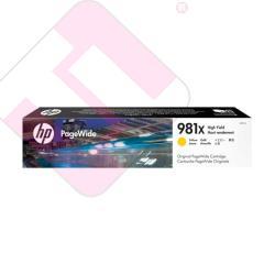 HP CARTUCHO TINTA AMARILLO 981X 10000 PAGINAS
