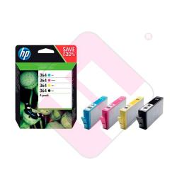HEWLETT PACKARD INYECCION TINTA RAINBOW PACK 364 BK/C/M/Y