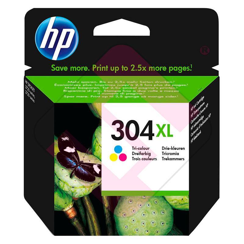 HP CARTUCHO TRICOLOR 304XL