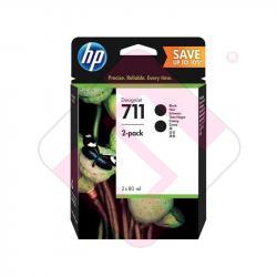 HEWLETT PACKARD HP 711 DOBLE BK DESINGET T120/T520