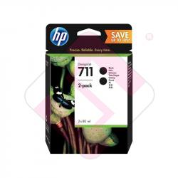 HEWLETT PACKARD HP 711 DOBLE BK DESINGET T120/T520