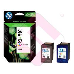 HEWLETT PACKARD CARTUCHO INYECCION TINTA NEGRO/TRICOLOR 56/5