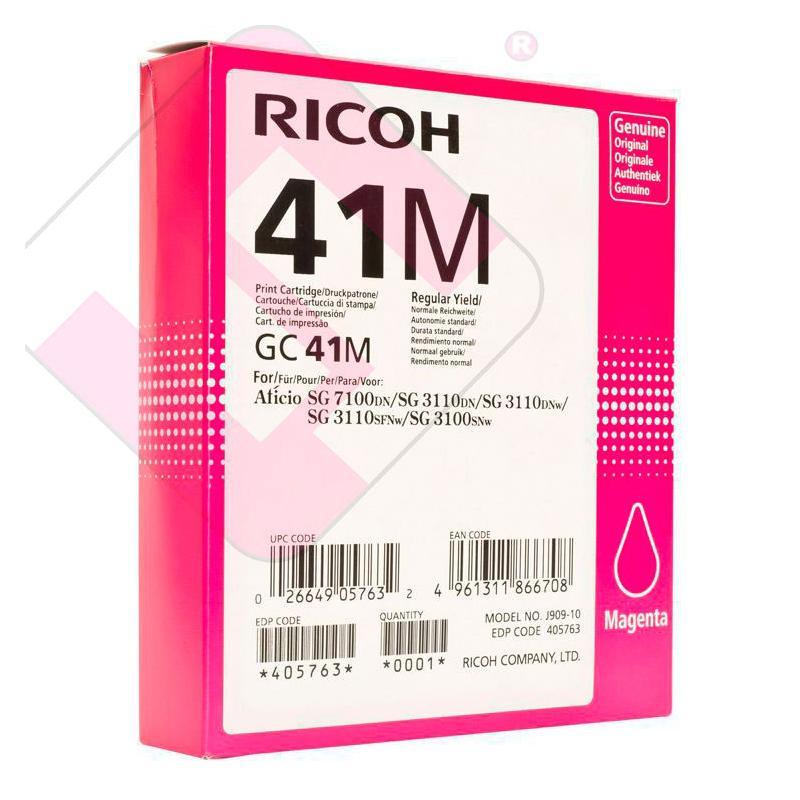 RICOH CARTUCHO INYECCION TINTA MAGENTA GC-41M 2.200 PAGINAS