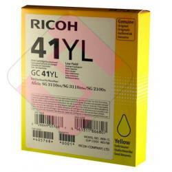 RICOH CARTUCHO INYECCION TINTA AMARILLO GC-41YL 600 PGINAS