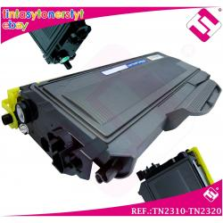 TONER NEGRO TN2310 TN2320 COMPATIBLE PARA IMPRESORAS NONOEM BROTHER NO...
