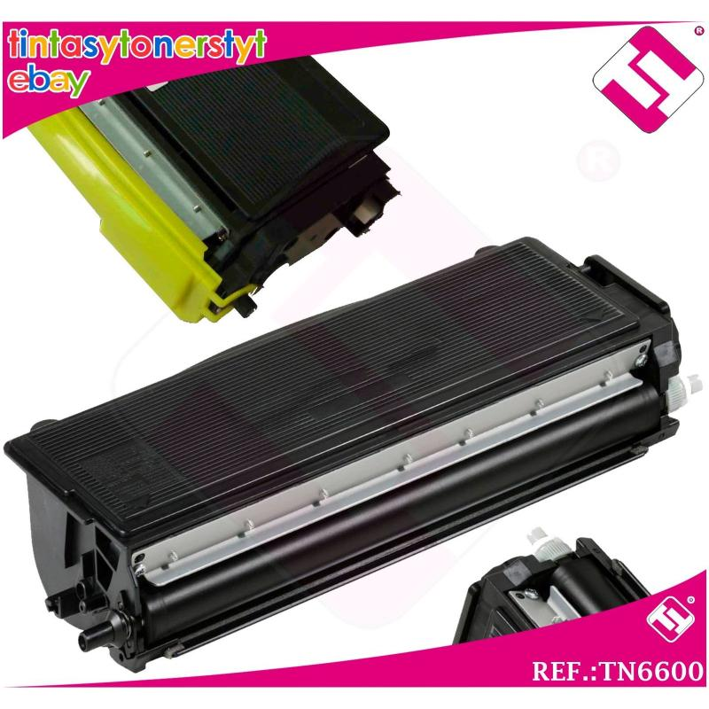 TONER NEGRO TN6600 COMPATIBLE PARA IMPRESORAS NONOEM BROTHER NO ORIGINAL
