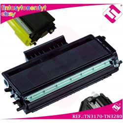 TONER NEGRO TN3170 TN3280 ALTERNATIVO IMPRESORAS NONOEMBROTHER TN-3170 TN-3280