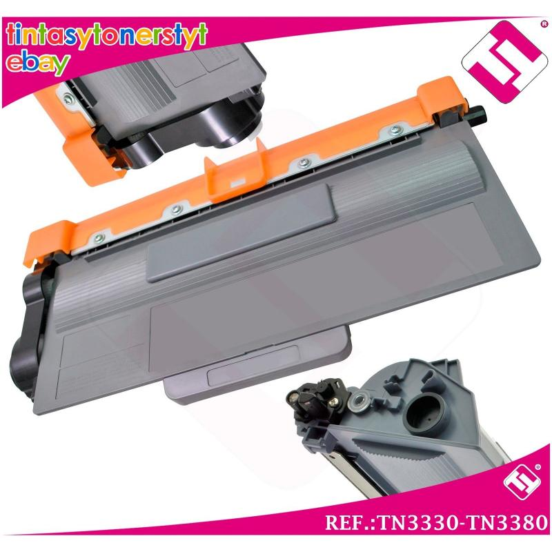 TONER NEGRO TN3330 TN3380 COMPATIBLE PARA IMPRESORAS NONOEM BROTHER NO ORIGINAL
