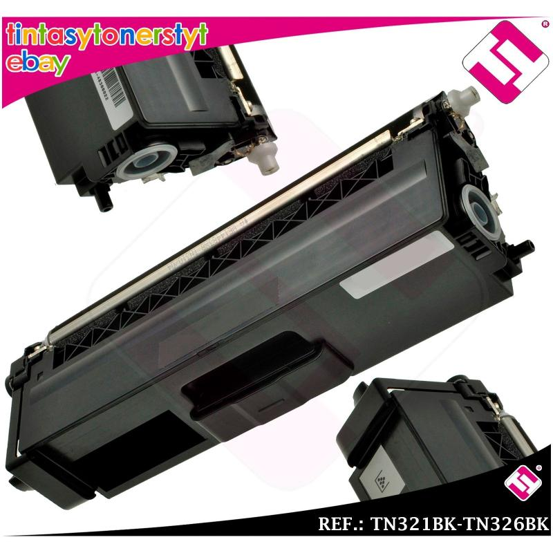 TONER NEGRO TN321BK TN326BK ALTERNATIVO IMPRESORAS NONOEMBROTHER TN-321BK-326BK