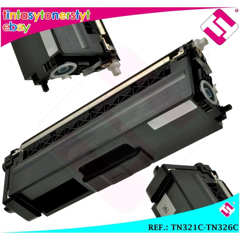 TONER CYAN TN321C TN326C ALTERNATIVO IMPRESORAS NONOEMBROTHER TN-321C-326C