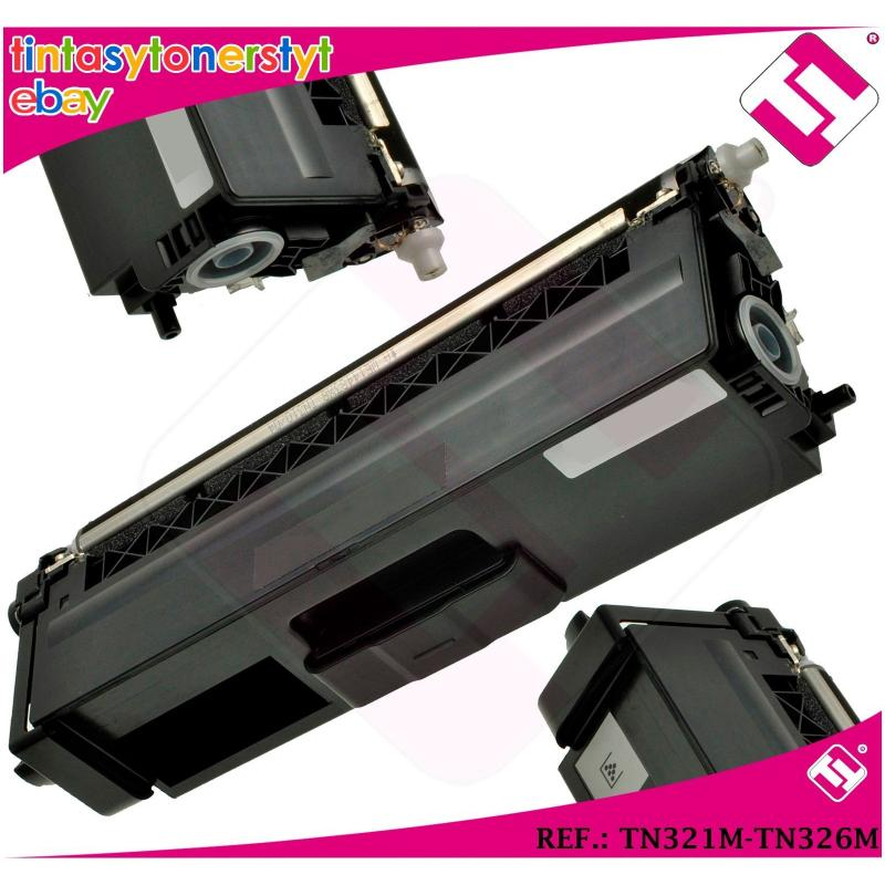 TONER MAGENTA TN321M TN326M ALTERNATIVO IMPRESORAS NONOEMBROTHER TN-321M-326M