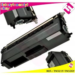 TONER AMARILLO TN321Y TN326Y COMPATIBLE PARA IMPRESORAS NONOEM BROTHER