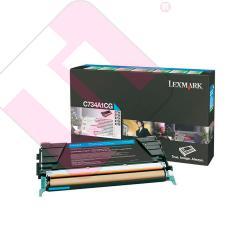 LEXMARK TONER LASER CIAN 6.000 PAGINAS PACK 1 RETORNABLE C/7